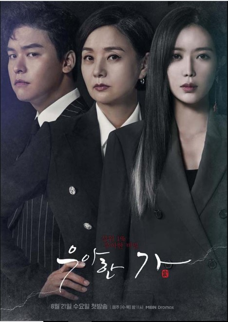Graceful Family cast: Lim Soo-Hyang, Lee Jang-Woo, Bae Jong-Ok. Graceful Family Release Date: 21 August 2019. Graceful Family Episodes: 16.