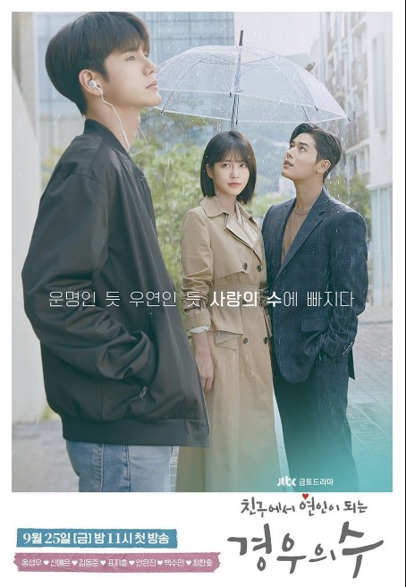 More Than Friends cast: Ong Seong Wu, Shin Ye Eun, Kim Dong Jun. More Than Friends Release Date: 25 September 2020. More Than Friends episodes: 16.