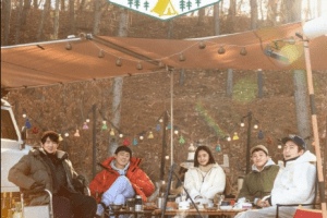 Camping Playlist cast: Jo Jung Suk, Jeon Mi Do, Yoo Yeon Seok. Camping Playlist Release Date: 4 March 2021. Camping Playlist Episode: 1.